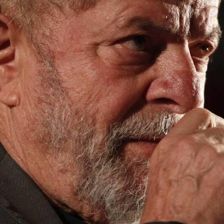 O ex- presidente Lula Foto: Marcos Alves / Agência O Globo