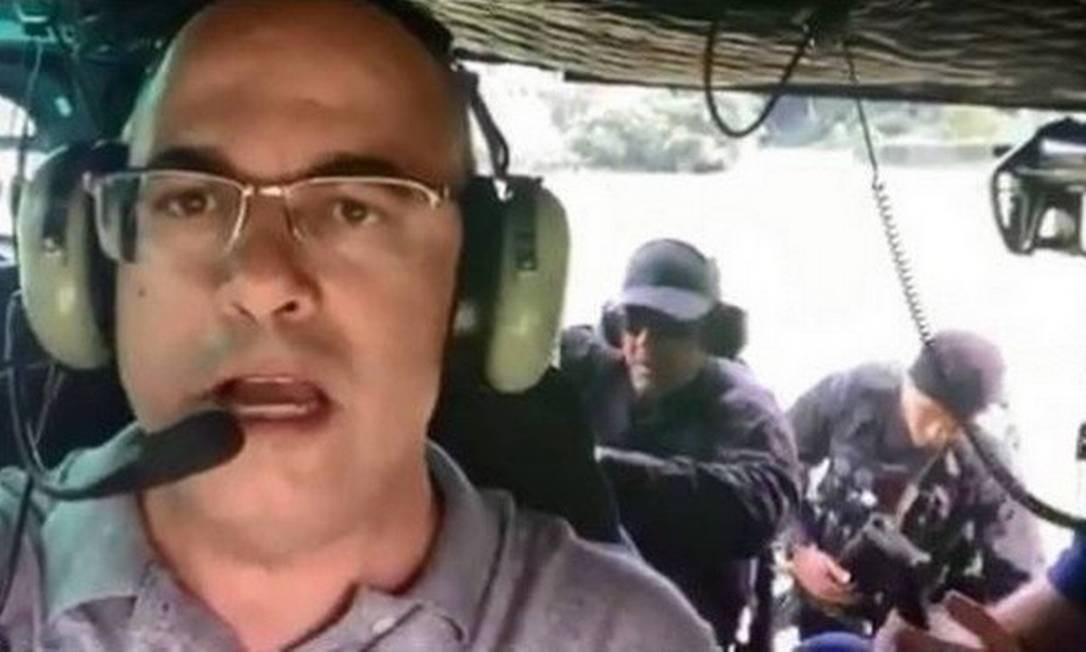 Wilson Witzel participa de operação policial com a Core em Angra dos Reis
