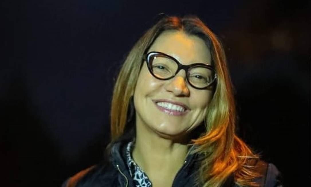 Rosângela da Silva em postagem em rede social Foto: Reprodução / Facebook