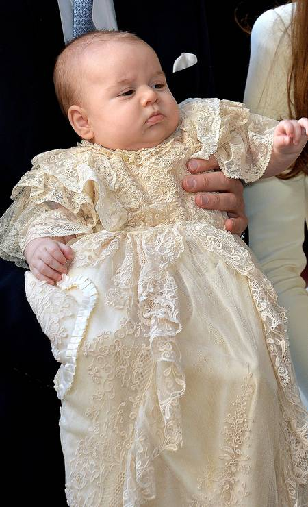 Pictured, the presentation of Prince George, son of Prince William and Kate Middleton, in October 2013 Photo: WPA Pool/Getty Images