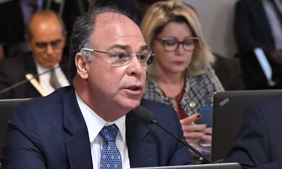 O líder do governo no Senado, senador Fernando Bezerra Coelho (MDB-PE) Foto: Geraldo Magela/Agência Senado/10-07-2019