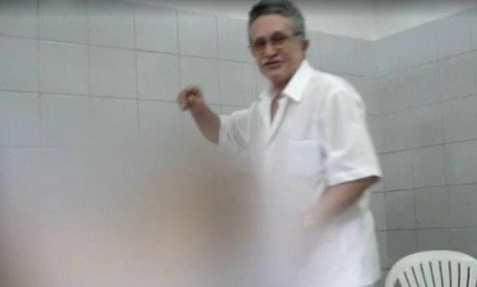 José Hilson Paiva, médico cearense, filmava o atendimento suas pacientes sem autorização delas e fazia procedimentos inadequados e abusivos Foto: Reprodução de vídeo