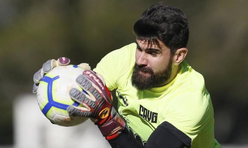 Cruz-maltino encara o Palmeiras e Fernando Miguel pede atenção para conquistar um bom resultado Foto: Rafael Ribeiro / rafael ribeiro/vasco