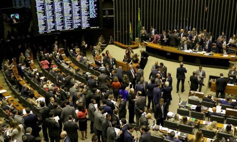 O Plenário da Câmara Foto: Wilson Dias / Agência Brasil