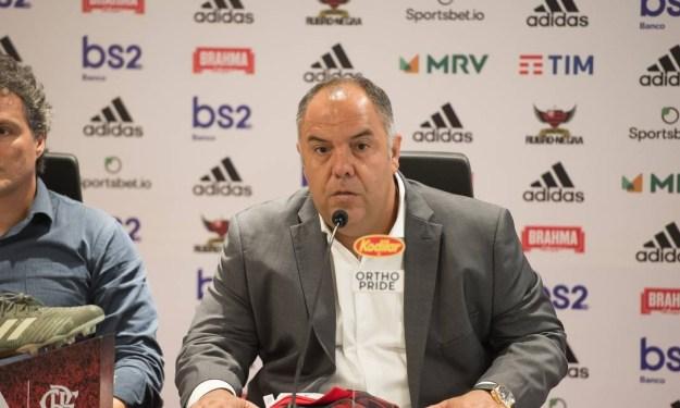 Bruno Spindel e Marcos Braz lidam com negociações Foto: Divulgação
