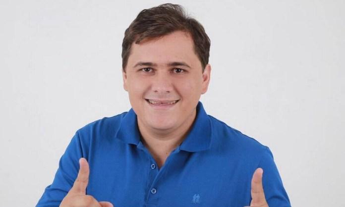 O candidato a vereador em Curral Novo (PI) Alison da Socorrinha Foto: Reprodução