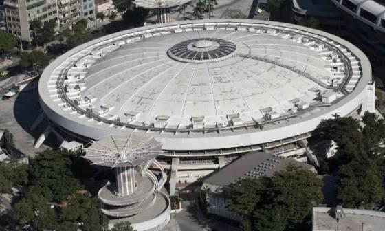 O Maracanãzinho, ginásio do complexo do estádio do Maracanã, na Zona Norte do Rio, pode se tornar um dos locais para receber o imunizador contra o Covid-19 Foto: Divulgação
