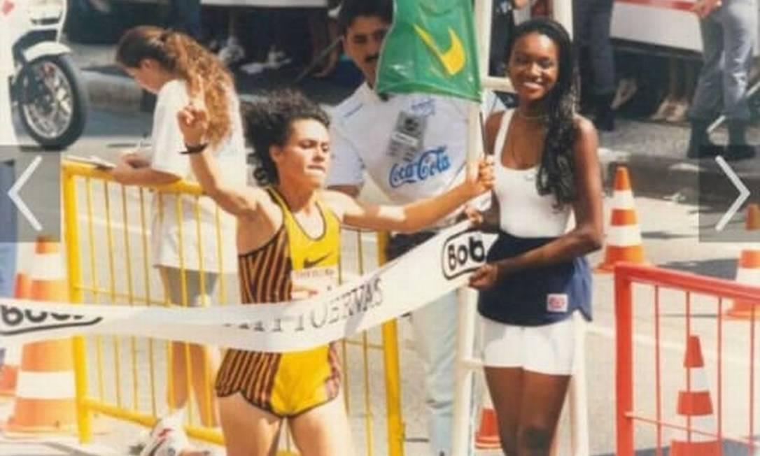 Campeã da São Silvestre, Roseli Machado morreu aos 52 anos, em abril de 2021 Foto: Divulgaçao