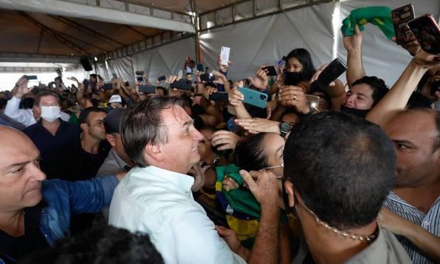 Bolsonaro during a trip to Maceió (AL) in May 2020 Photo: Alan Santos / PR