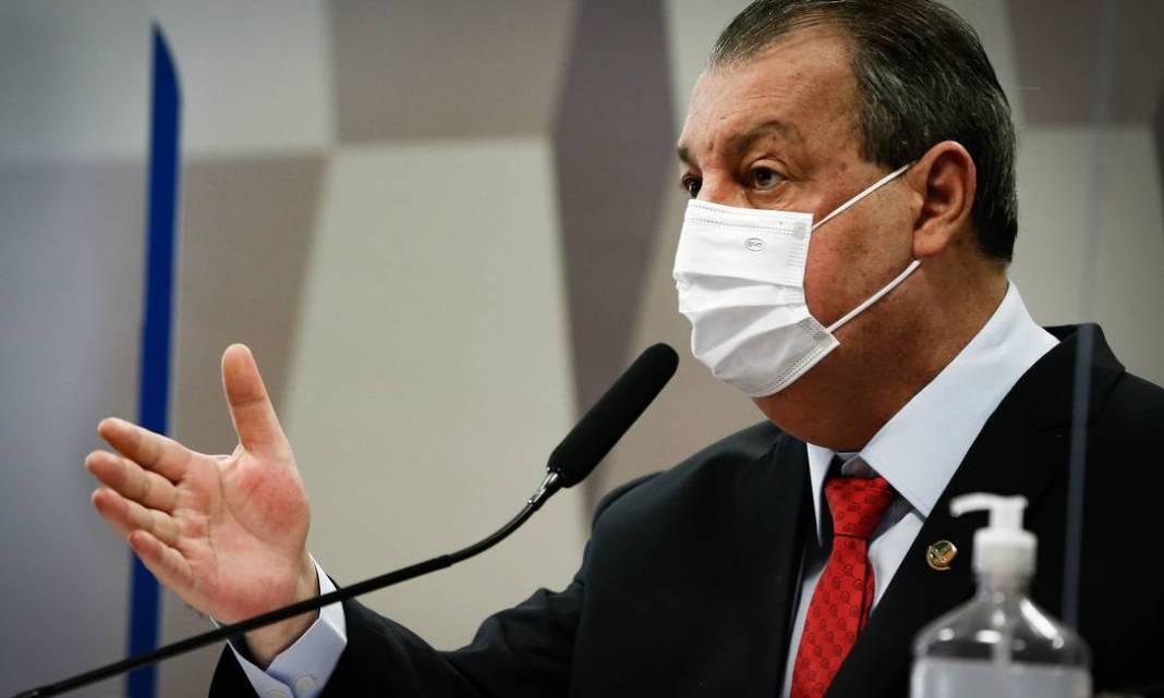 Com o habeas corpus elaborado pelo Supremo Tribunal Federal (STF), o governador do Amazonas, Wilson Lima (PSC), não compareceu à CPI da Covid, no senado: