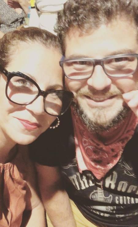 Sérgio Stamile and Carla Daniel Photo: Reproduction / Instagram
