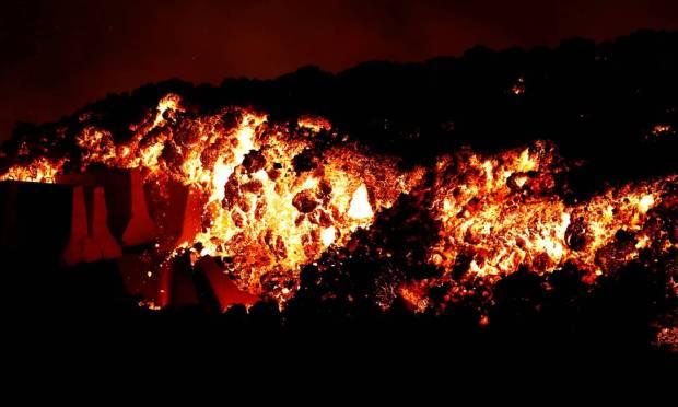 The Cumbre Vieja volcanic complex had not erupted since 1971 Photo: BORJA SUAREZ / REUTERS