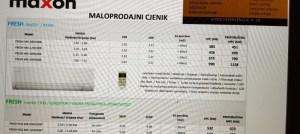 AKCIJA-NOVI MODEL 2018-19 – Klima INVERTER Maxon 9,12 ,18 i 24 Elektromont Banja Luka 065 566 141