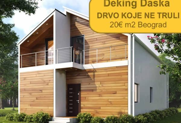Deking Daska 20€ m2 Akcija!