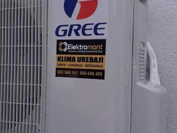 AKCIJA-Klima Gree LOMO INVERTER Wi-Fi sa ugradnjom 1000 KM  Elektromont Banja  Luka 065 566 141