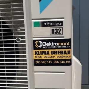 AKCIJA-Daikin A++ inverter klima FTXF35A sa ugradnjom 1400 KM 065 566 141 Elektromont Banja Luka 3g. garancija