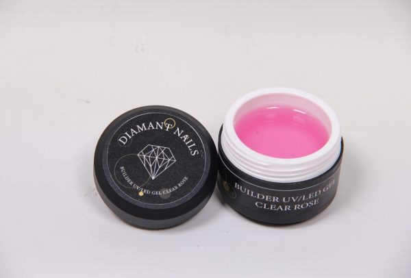 Gradivni gel pink clear