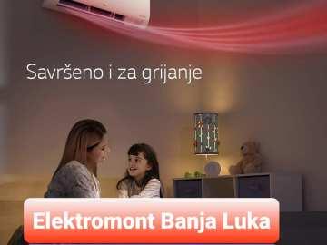 AKCIJA !!!! Klima Dual Inverter LG S12EQ A++ Elektromont Banja Luka 065 566 141