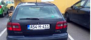 VOLVO V40 PLIN