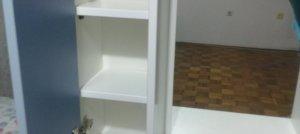 Ormarić za kupatilo (duž. 80,3  šir. 20,6  vis. 60,3 cm)