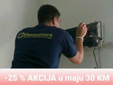 AKCIJA !!! Klima uređaji Gree,Maxon,Azuri,Orion,Frozzini,Vox,LG sa ugradnjom Elektromont Banja Luka 065 566 141