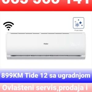 AKCIJA !!! Klima INVERTER Haier Tide12 A++ Wi-Fi sa ugradnjom 899 KMM Elektromont Banja Luka 065 566 141