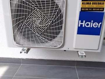 AKCIJA !!!  Klima INVERTER Haier Tide12 A++ eco plin R32 – 15 grijanje Wi-Fi sa ugradnjom 900 KM Elektromont Banja Luka 065 566 141