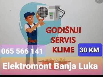 AKCIJA !!! Klima uređaji Banjaluka-prodaja,servis,montaža,čišćenje Elektromont Banja Luka 065 566 141