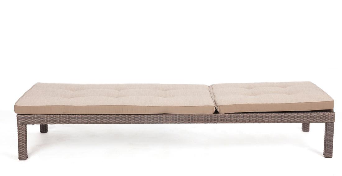 Chaise Longue Confortable De Couleur Java Meubles De