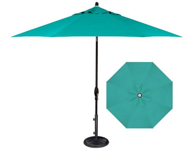 Parasol Bleu Pour Terrace Ogni
