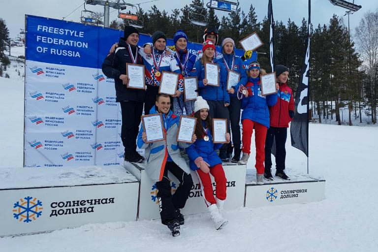 В Кубке России по фристайлу «серебро» у чайковской студентки