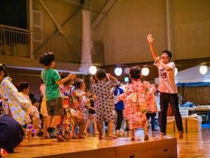 OBCライブinゆめなりき主催・ゆめ躍る夏のフェスティバル成木地区大盆踊り