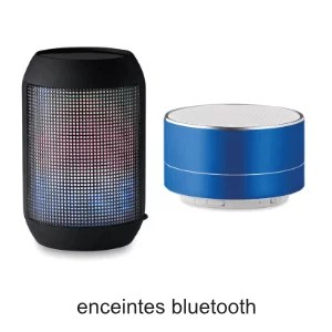 enceintes bluetooth
