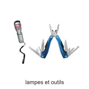 lampes et outils