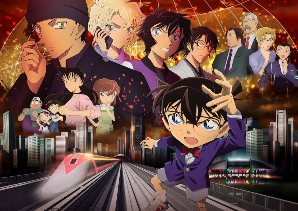 Detective Conan Hiiro no Dangan (The Scarlet Bullet) movie set to release in April 2021!