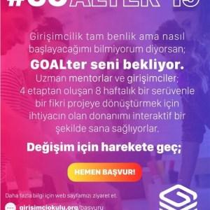 GİRİŞİMCİ OKULU GOALTer'19 Programı