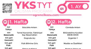 Türkiye Geneli Töder 1. Deneme Sınavı YKS 2019 1