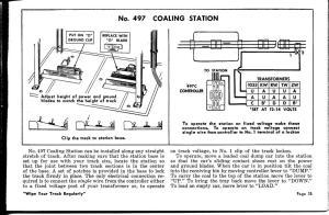 Lionel 497 (Postwar) Coal Loader and Operating Track Question RSE | O Gauge Railroading On Line