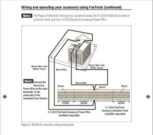 Lionel Fastrack wiring | O Gauge Railroading On Line Forum