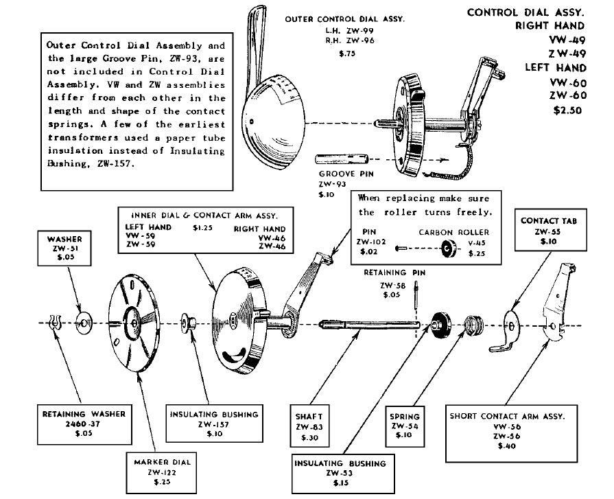 diagram looking for wiring diagram of file yk36766 Lionel Type 1033 Transformer Wiring lionel kw transformer wiring diagram