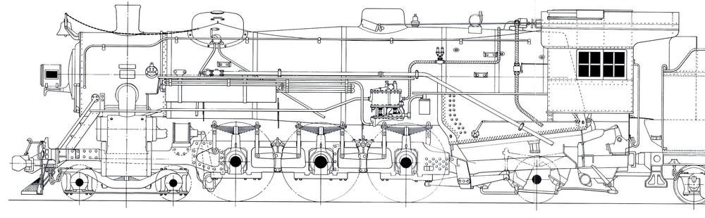 Williams 0 4 Locomotive 6