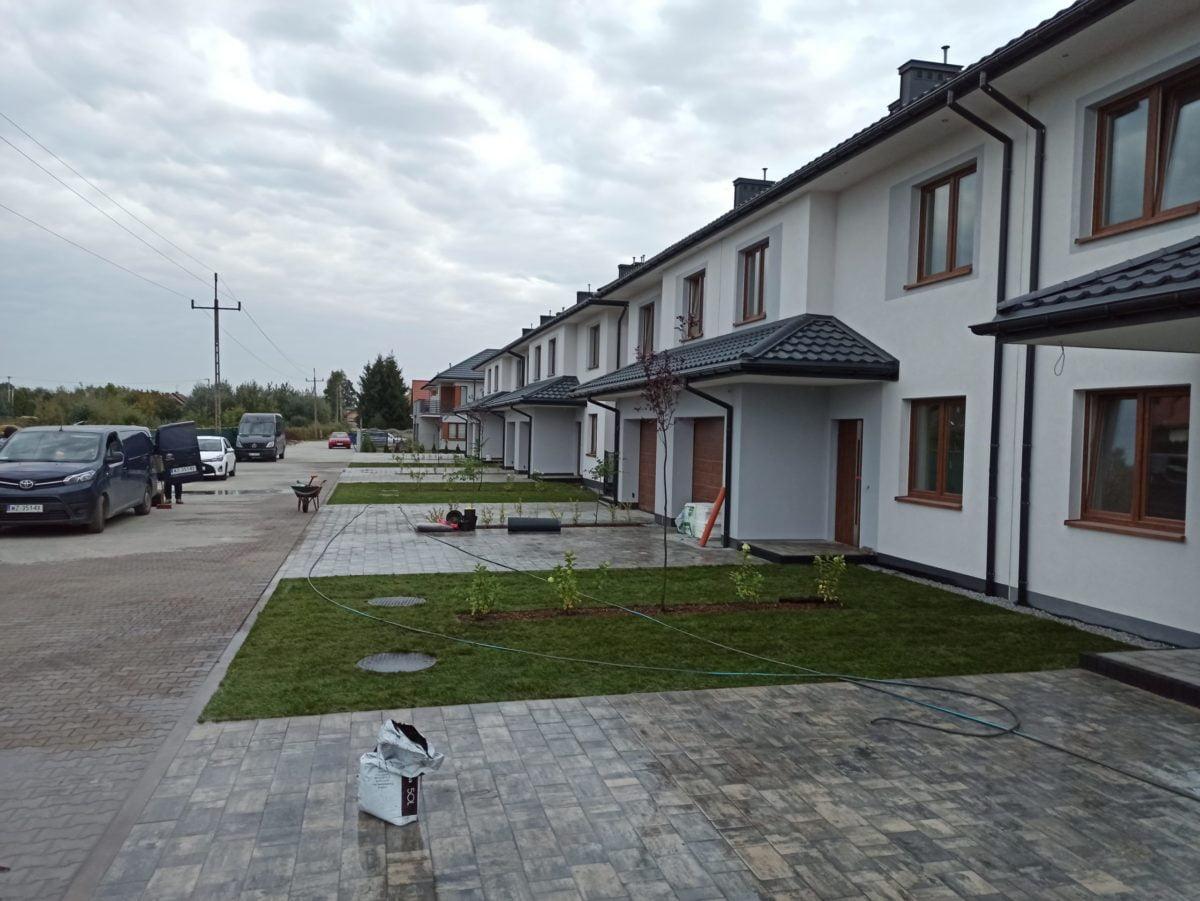 Budowa ogrodu na osiedlu