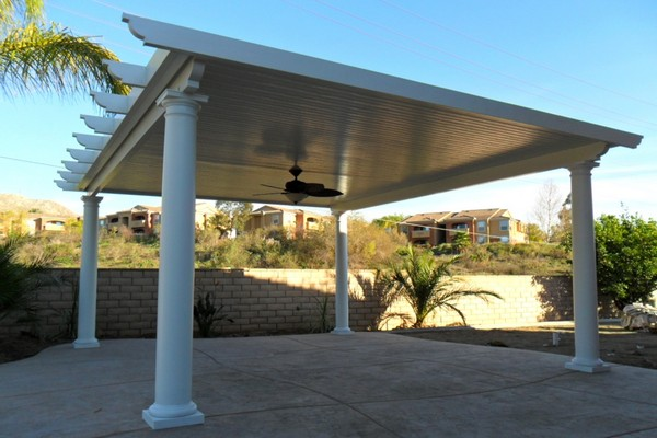pergolas patio covers installed by