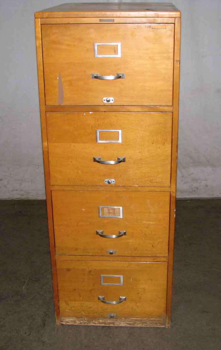 Antique Maple File Cabinets | Olde Good Things on Maple Cabinets  id=74641