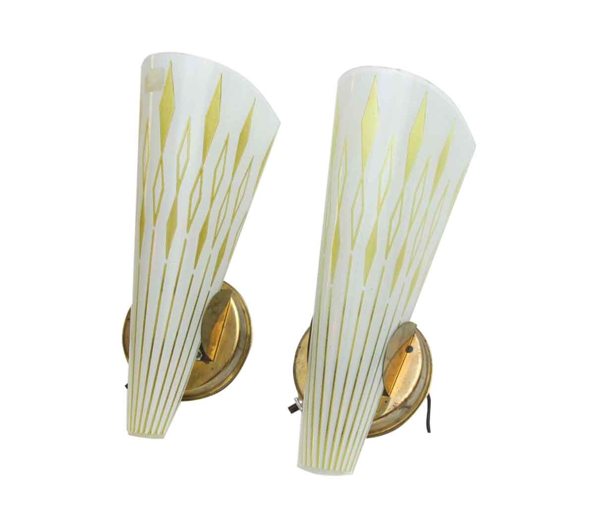 Pair of 1950s Mid Century Modern Wall Sconces | Olde Good ... on Wall Sconces Modern id=45739