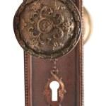 Antique Taylor Boggis Bronze Door Knob Set Olde Good Things