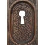 Bronze Ceylon Pocket Door Keyhole Pull Olde Good Things