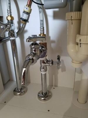 分岐水栓アップ