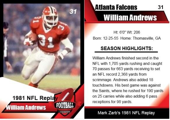 1981 william andrews card