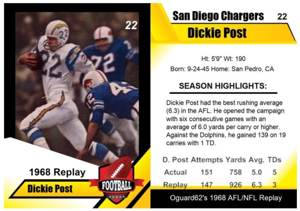 1968 - Dickie Post Card